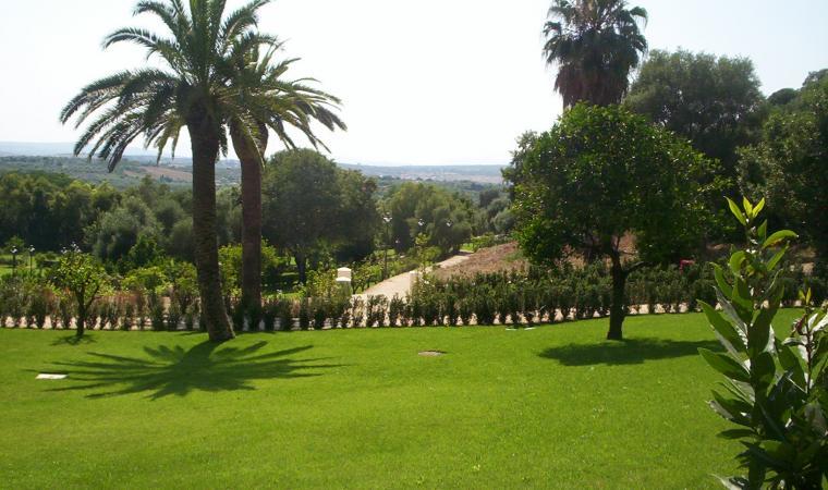 Veduta parco di Monserrato - Sassari