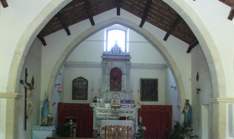 Parrocchiale di san Giacomo, interno - Soleminis
