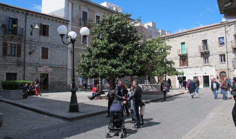 Piazza Italia - Tempio Pausania