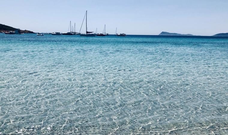 riva della spiaggia di Piscinnì