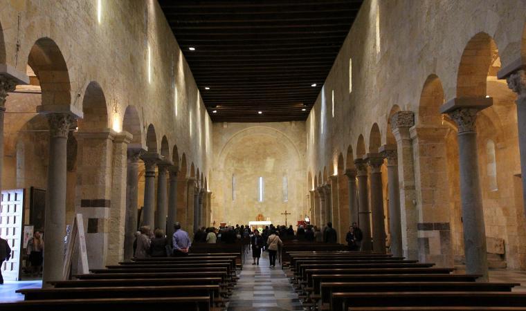 Basilica di san Gavino, interno - Porto Torres