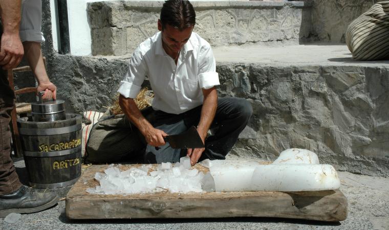 Preparazione della carapigna - Aritzo