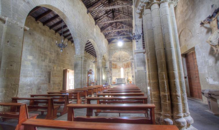 San Pantaleo, interno - Dolianova