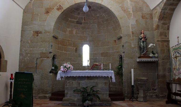 Chiesa di santa Maria delle Grazie, interno  - Santa Maria Coghinas