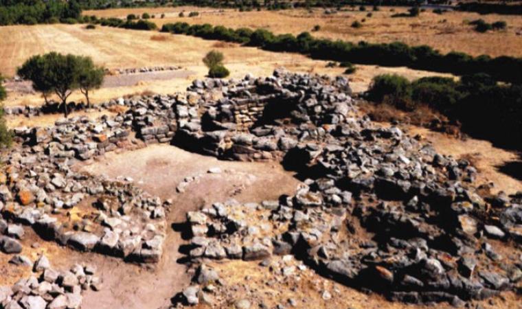 Nuraghe sa Domu Beccia - Uras