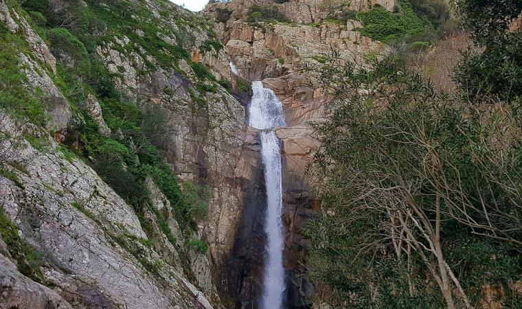 Sa Spendula, cascata - Villacidro
