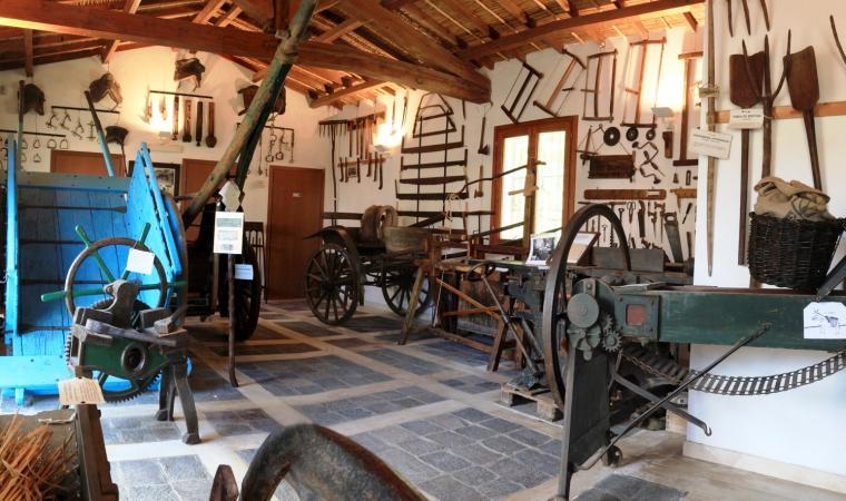 Sala attrezzi - museo etnografico Mulino Licheri - Fluminimaggiore