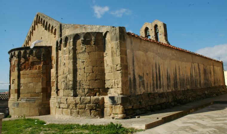 Chiesa di san Pietro, abside - Villamar