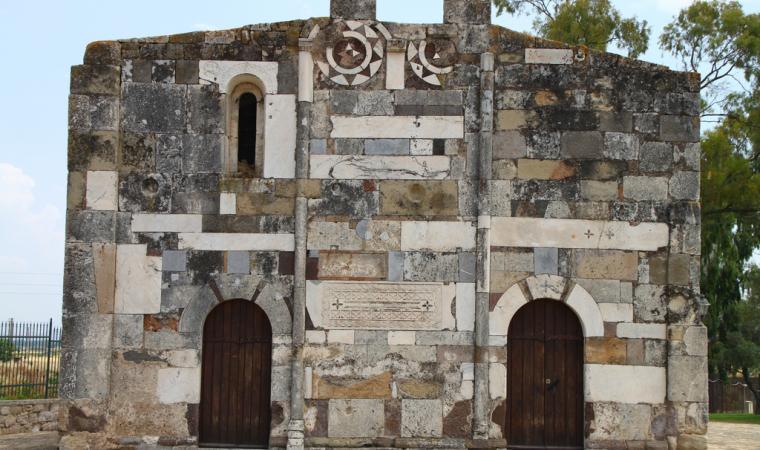 Chiesa di san Platano, facciata - Villaspeciosa