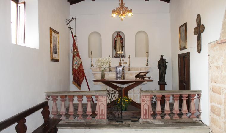 Chiesa di san Salvatore, interno - Cabras