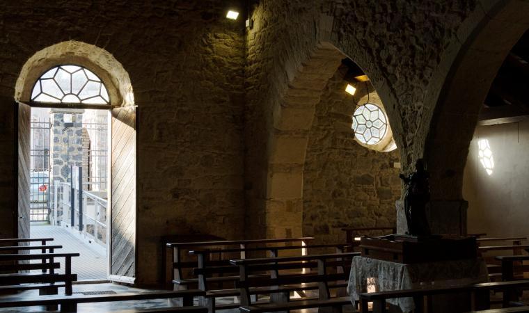Aula della chiesa di sant'Anastasia - Sardara