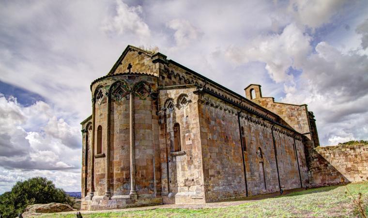 Sant'Antioco di Bisarcio, abside
