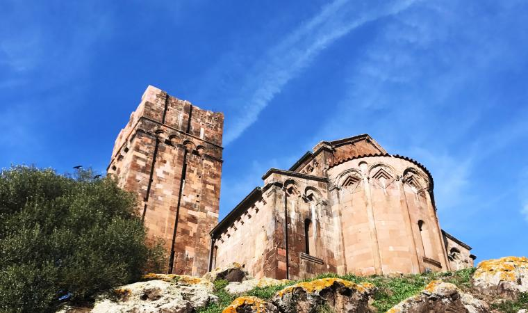 Sant'Antioco di Bisarcio, retro - Ozieri
