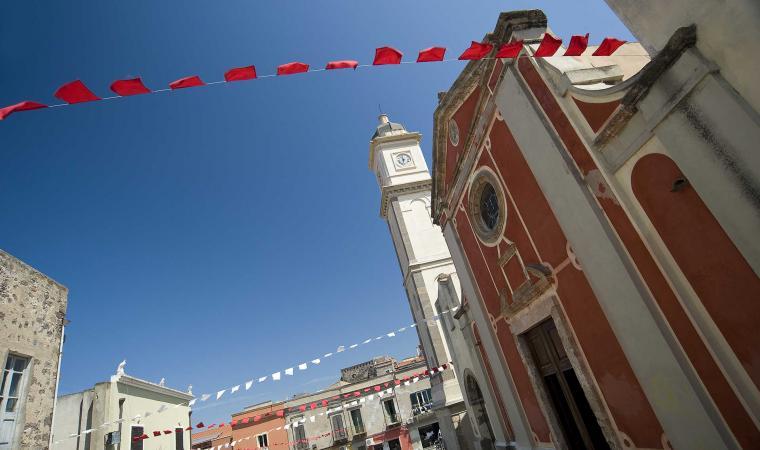 Basilica di sant'Antioco, facciata