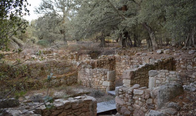 Sant'Efis, villaggio romano - Orune