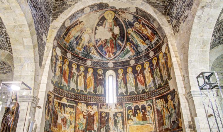 Santissima Trinità di Saccargia, affresco