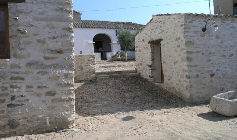 Scorcio centro storico - Escolca