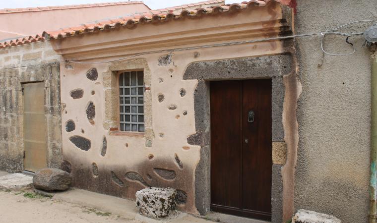 Scorcio villaggio san Salvatore - Cabras