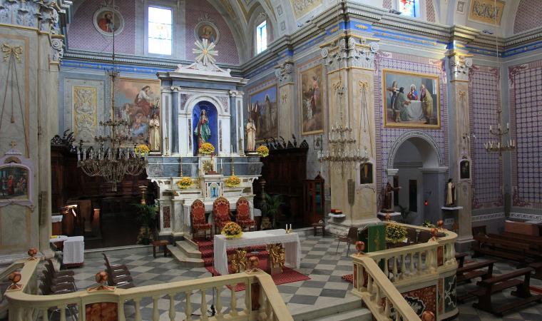 Chiesa di santa Maria Immacolata, interno  - Seneghe