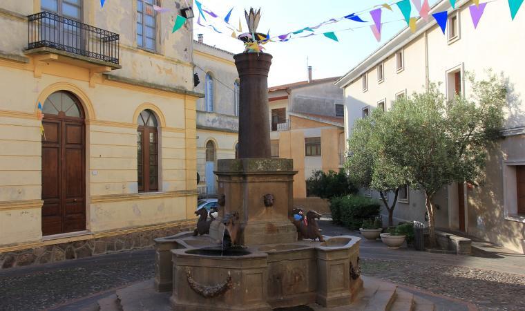 Piazza del Municipio - Seneghe
