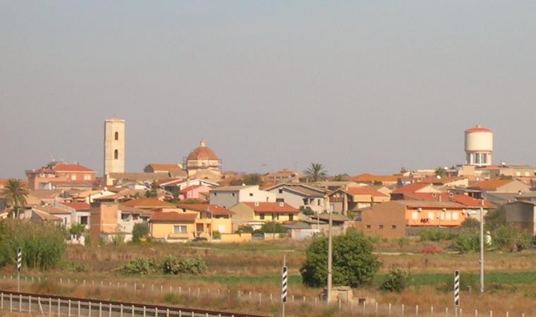 Veduta di Serramanna