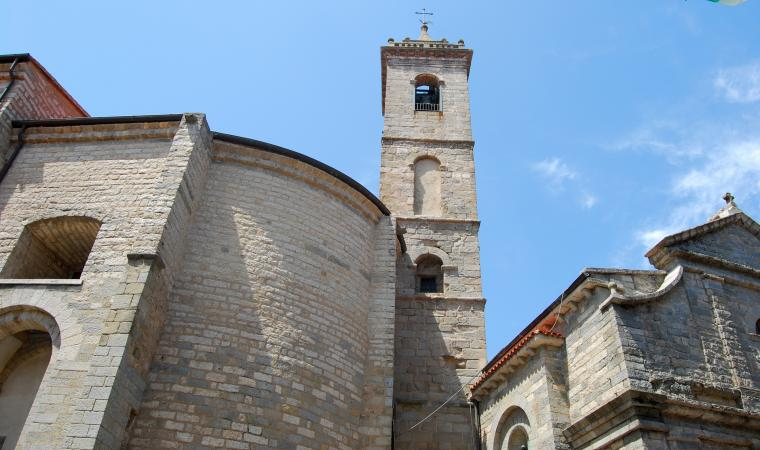 Campanile chiesa di san Pietro - Tempio Pausania