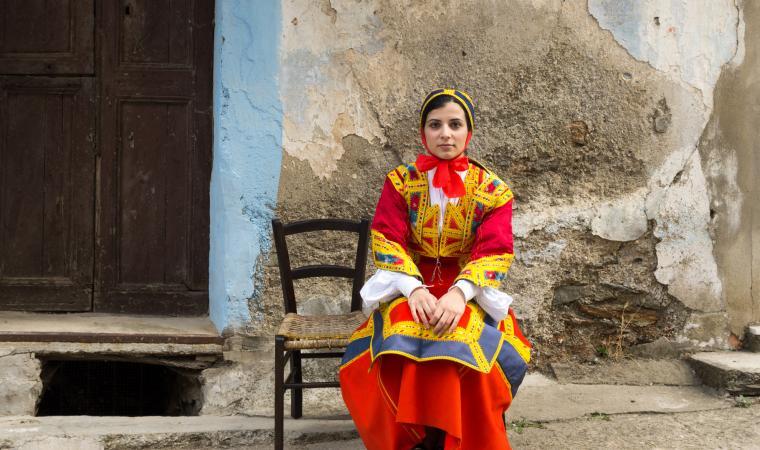 Donna in abito tradizionale - Desulo