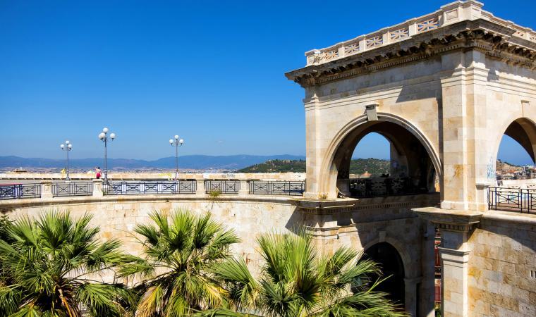 Bastione Saint Remy, Castello - Cagliari