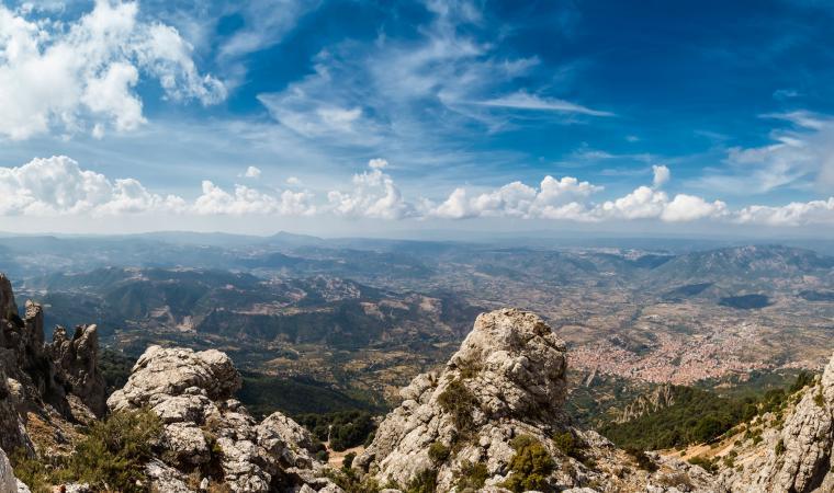 Veduta dal monte Corrasi