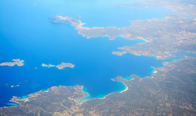 Costa Smeralda - veduta aerea