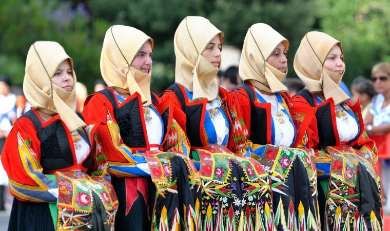 Donne in abito tradizionale - Orgosolo