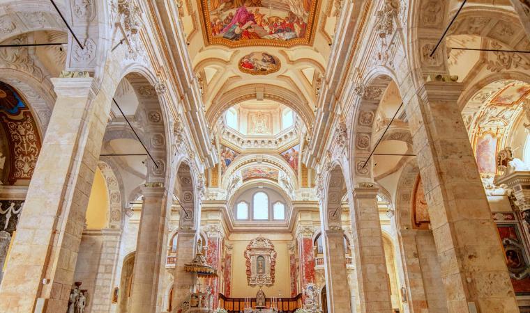 Duomo di Cagliari, interni
