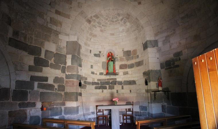 Chiesa di santa Sabina, interno  - Silanus