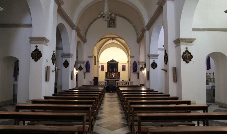 Parrocchiale di santa Vittoria, interno - Siligo