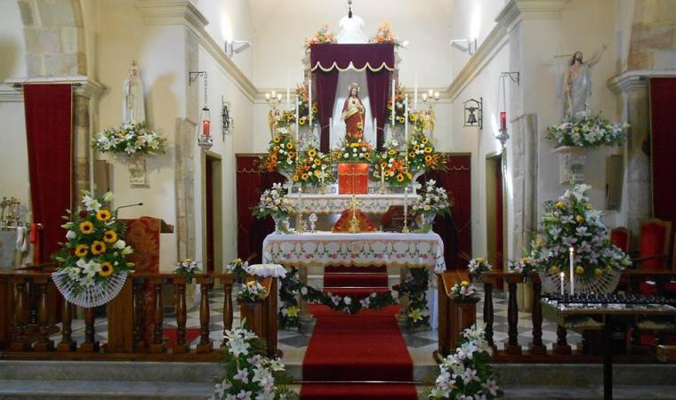 Chiesa parrocchiale, interno - Silius