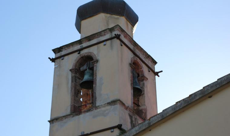 Parrocchiale dello Spirito Santo, campanile - Soddì