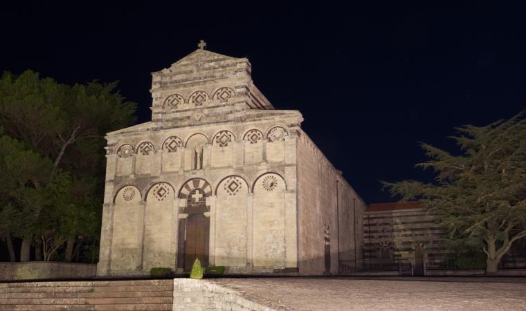 San Pietro di Sorres, facciata - Borutta