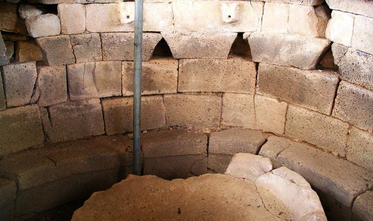 Fonte sacra, Sa Sedda 'e sos Carros - Oliena