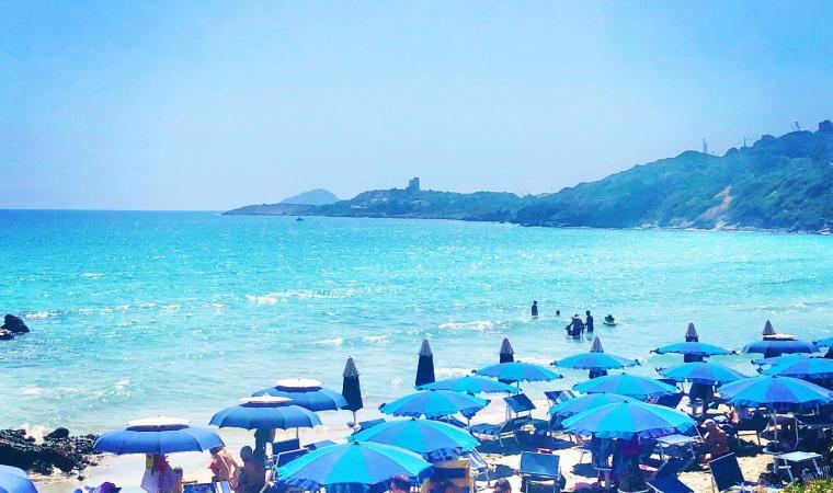 Spiaggia Coaccuaddus - Sant'Antioco
