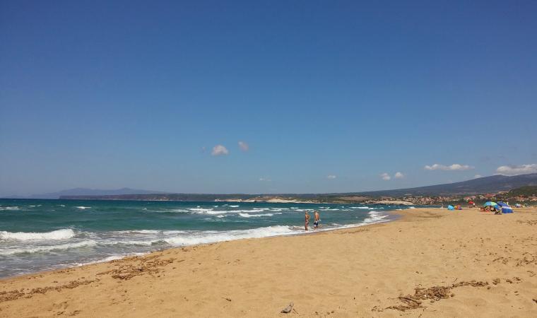 Spiaggia Is Arenas - Narbolia