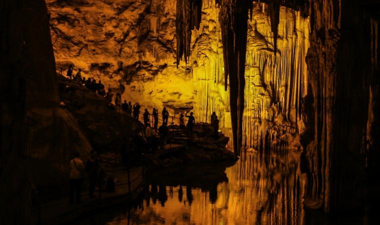 Grotte di Nettuno, interno - Alghero