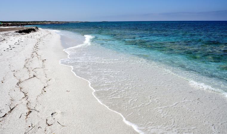 Mari Ermi, Spiaggia - Sinis