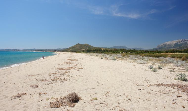 Posada, spiaggia