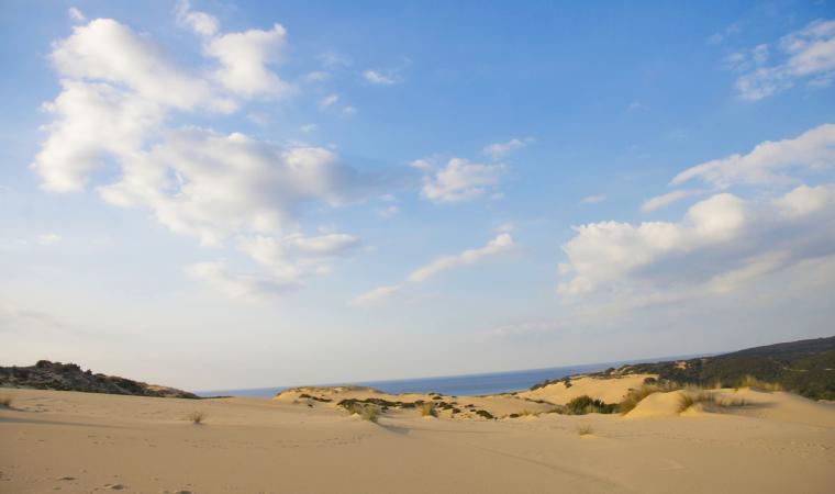 Spiaggia di Piscinas, dune - Costa Verde