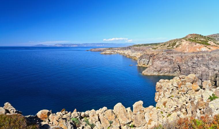 Isola di Carloforte, veduta