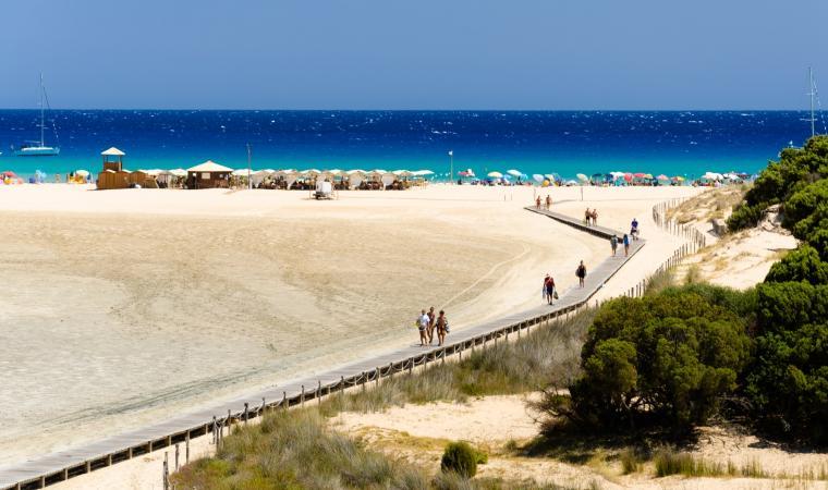 Spiaggia di Su Giudeu - Chia