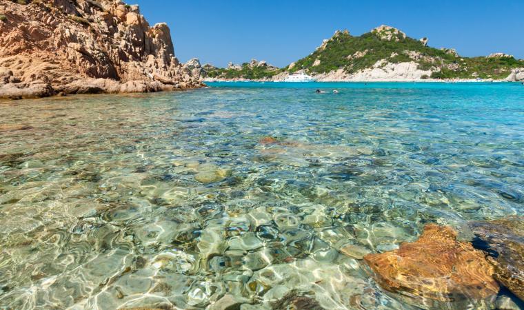 Isola di Spargi, Cala Corsara - La Maddalena