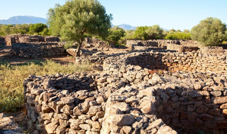 Dorgali - villaggio nuragico Serra Orrios