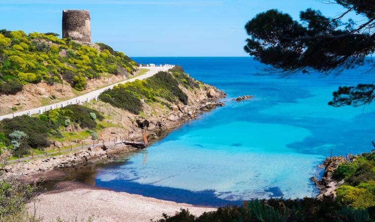 Parco Nazionale dell'Asinara, torre spagnola - Stintino