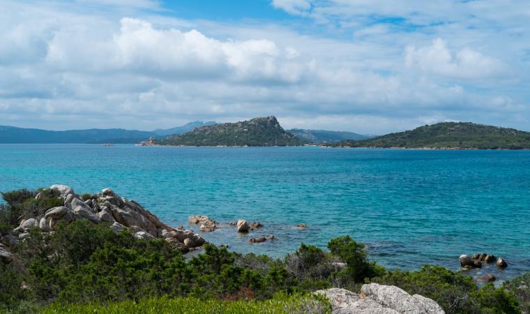 Isola di Caprera, panoramica - La Maddalena